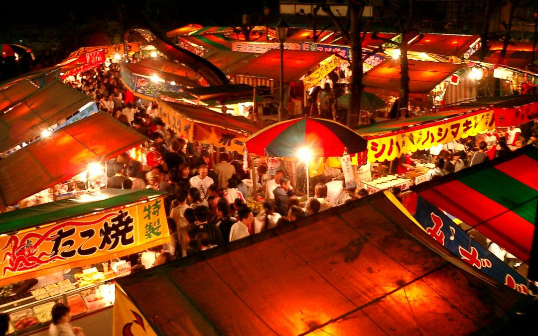 Japanska festivaler – matsuri