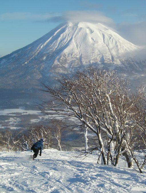 Skidåkning i Japan